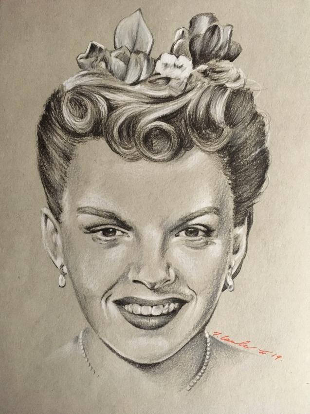 Judy Garland by TraceyLawler